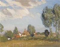 an essex village by sir george clausen