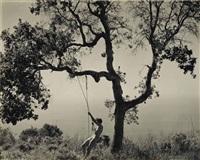winter idyll, 1945 by edward weston