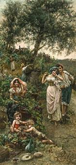 la récolte des raisins by salvatore postiglione