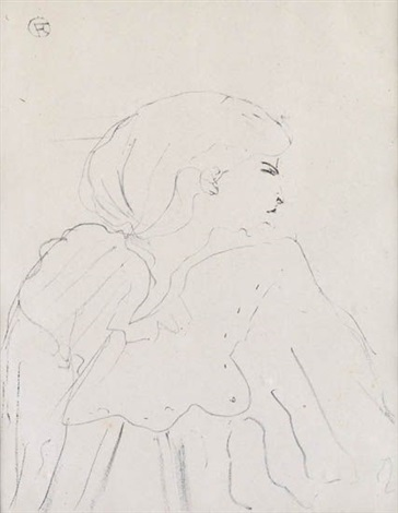 jane hading from treize lithographies by henri de toulouse lautrec