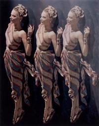 three times petersen, n.y by erwin blumenfeld