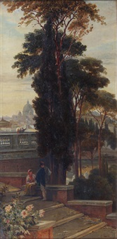 st. peters from the pincian by charles earle
