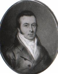 a gentleman, in green coat, yellow waistcoat by william bate