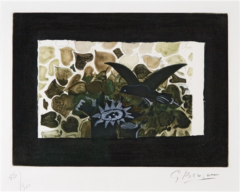 le nid vert by georges braque