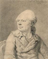 portrait présumé du père de l'artiste by pierre alexandre wille