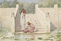 summer month that brings the rose<br/>- the rubáiyát of omar khayyám by henry ryland