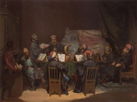 the scholars' debate by a. de monés