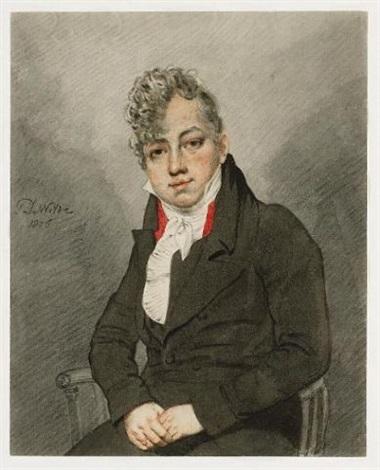 portrait of theodore edward hook by samuel de wilde