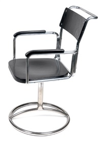 a k 25 swivelling chair by robert slezak