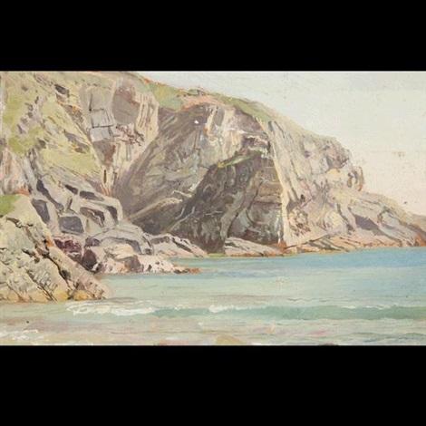 david's headlands wales by william trost richards