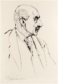 max liebermann zu hause (bk by julius elias w/2 works) by max liebermann