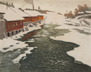 artwork by frits thaulow