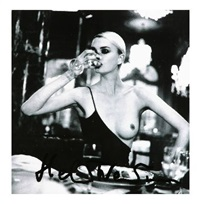 untitled (domestic nude) by helmut newton