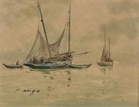 barques sardinières by pierre brette