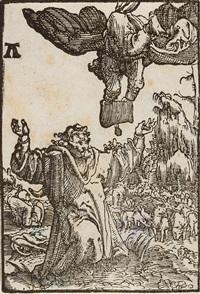 die verkündigung an joachim - die geburt christi (2 works from sündenfall und erlösung des menschengeschlechts) by albrecht altdorfer