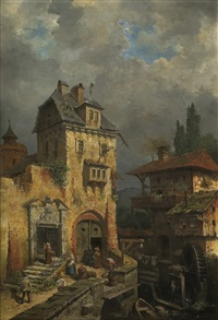 the old mill by max friedrich rabes