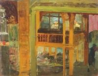 interior de café concert (the cafe concert) by hermenegildo anglada camarasa