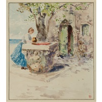fetching the water by theodore robinson