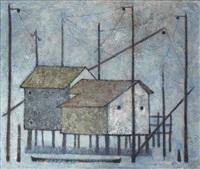 akwakh al sayyadin (fishermen's huts) by louay kayyali
