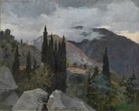 crimean landscape by nikolai petrovich bogdanov-bel'sky