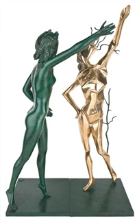 homage to terpsichore 向司歌舞女神致敬 by salvador dalí