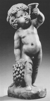 the infant bacchus by giusto le court