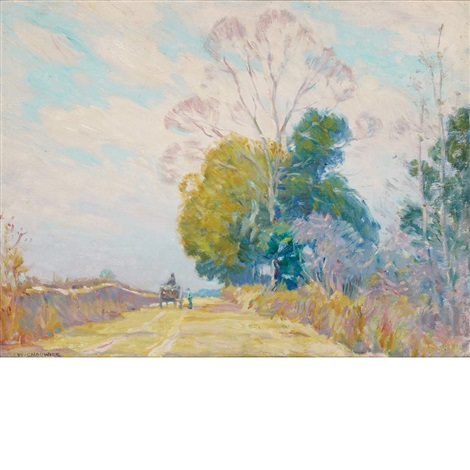 country road by william chadwick