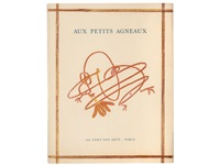 aux petits agneaux (bk by patrick waldberg w/19 works, 4to) by max ernst