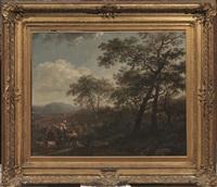 paesaggio con pastori by nicolaes berchem