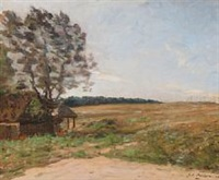 landscape by julius paulsen