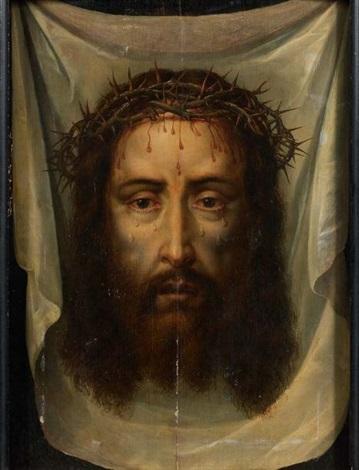 le voile de véronique ou la sainte face by philippe de champaigne