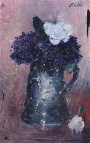 violets by jean louis forain