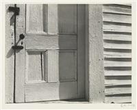 church, motherlode' (church door, hornitos) by edward weston