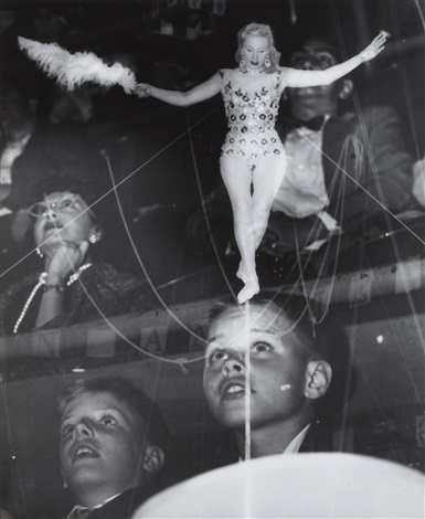 untitled circus 3 works by weegee
