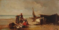 bord de mer (2 works) by joseph lievin