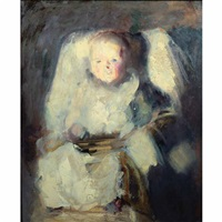 portrait of godfrey twachtman by john henry twachtman