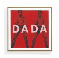 andy warhol elvis, dada by richard pettibone
