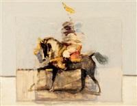 cavalier arabe by antoine de la boulaye