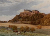 stirling castle by alfred robert quinton
