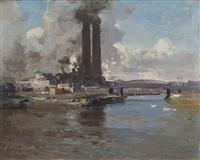 the iron bridge by theodore penleigh boyd