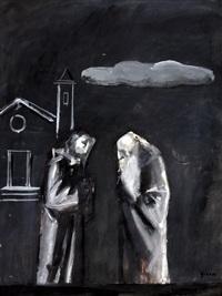due monaci by mario sironi