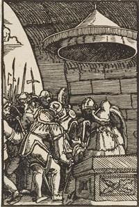 pilatus wäscht sich die hände - das jüngste gericht (2 works from sündenfall und erlösung des menschengeschlechts) by albrecht altdorfer