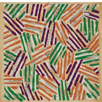 untitled (universal limited art editions s13) by jasper johns