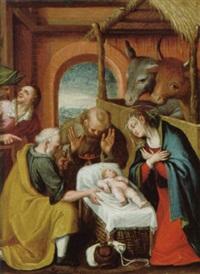 adorazione dei pastori by italian school-ferrara (17)