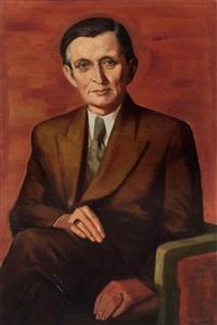 portrait of a gentleman by wilhelm lachnit