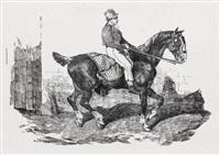 cheval de carrosse monté par un palefrenier by théodore géricault