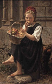 the apple girl by charles victor thirion