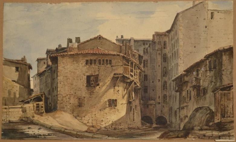 village de montagne by alexandre calame