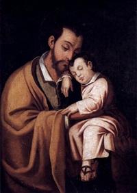 san josé y el niño by juan (fray) sanchez y cotan