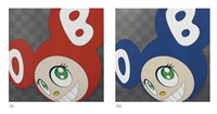 and then and then and then and then and then (two works) by takashi murakami